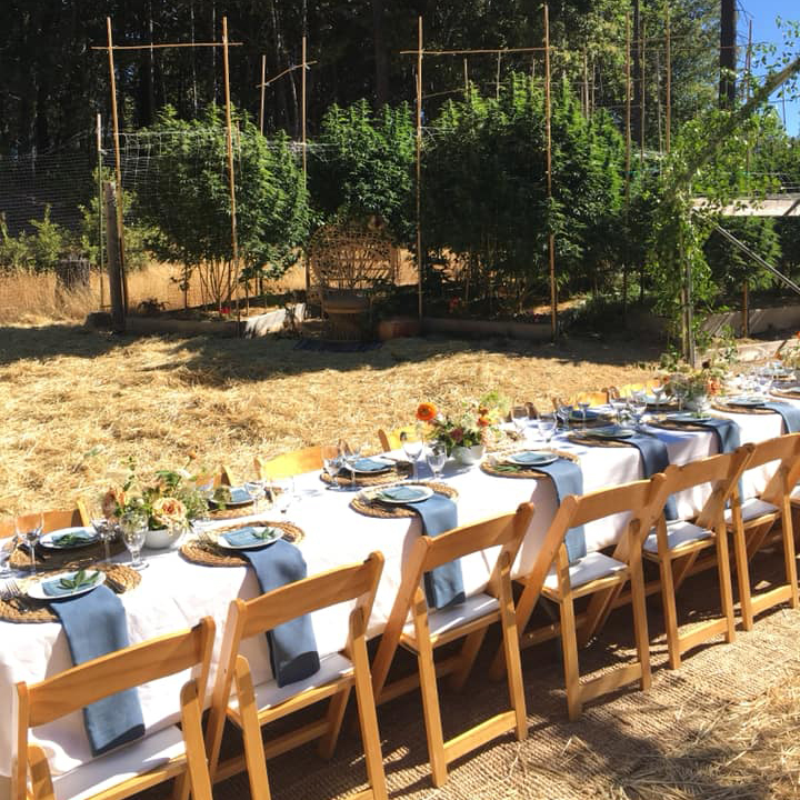 Event table at Sunrise Mountain